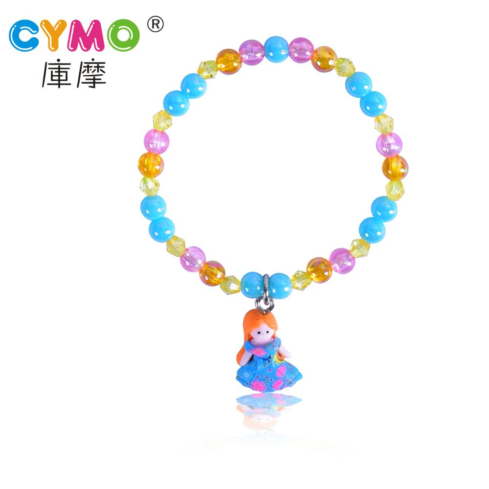 Fashion Best Gift Kids Clay Bracelet for Teenager Beads Jewelry Making Bracelet