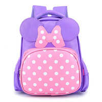 Girls Backpack 2017 Korean Baby Travelling Cartoon Fashion Design Zipper Girls Backpack