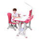 kindergarten plastic study table and chair set with drawer for student