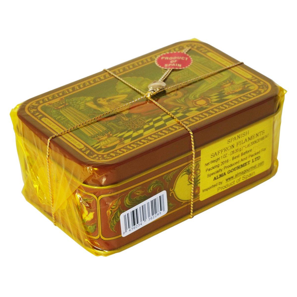 Spanish Saffron 1 Oz Tin