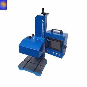 Industrial Rotary Desktop Dot Peen Pin Pneumatic Marking Machine MH-Q02