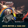 Rocket 4-poles powerful 4076/5D with 120A esc motor combo for rc toy model