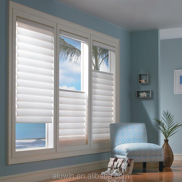 einstellbare aluminium profil glas shutter lamellenfenster. Black Bedroom Furniture Sets. Home Design Ideas