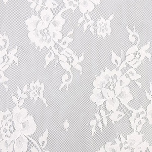 haute couture keqiao textile embroidery warp wedding mesh lace fabric lace