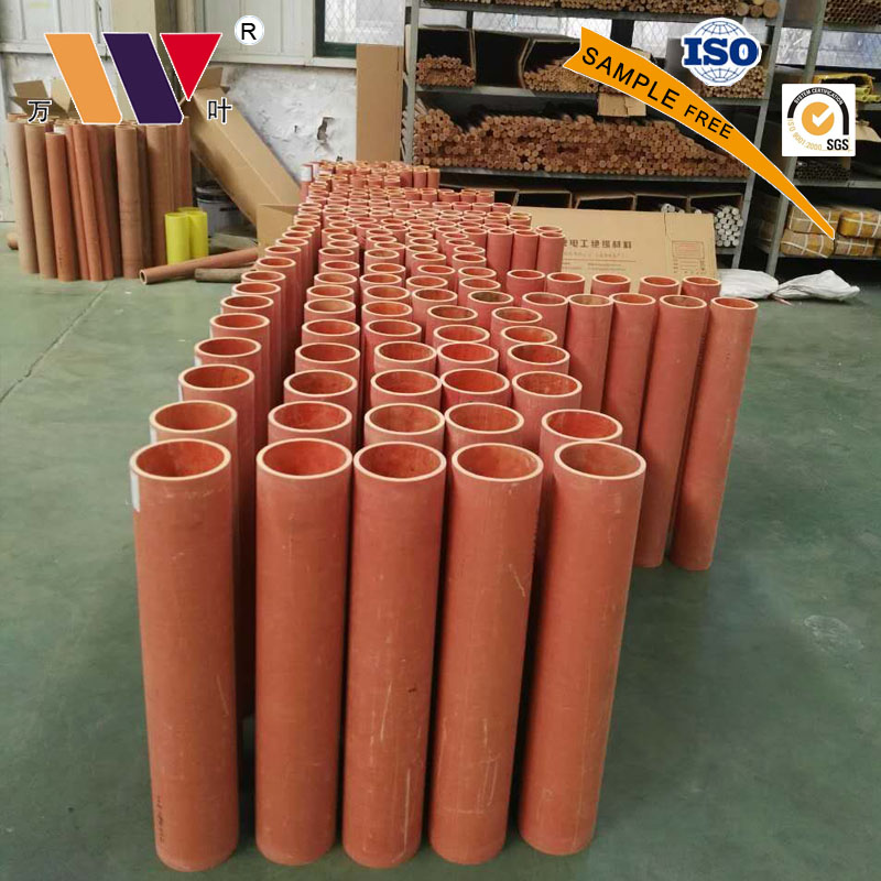 Electrical Insulation Materials Phenolic Resin Cotton Fabric Laminated Tubes