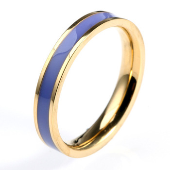 620c9280574a Fabricante de joyería de acero inoxidable de China de moda Simple pulido  fino anillo par