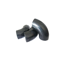 Black iron pipe butt welded fittings black malleable iron buttweld elbow pipe fitting