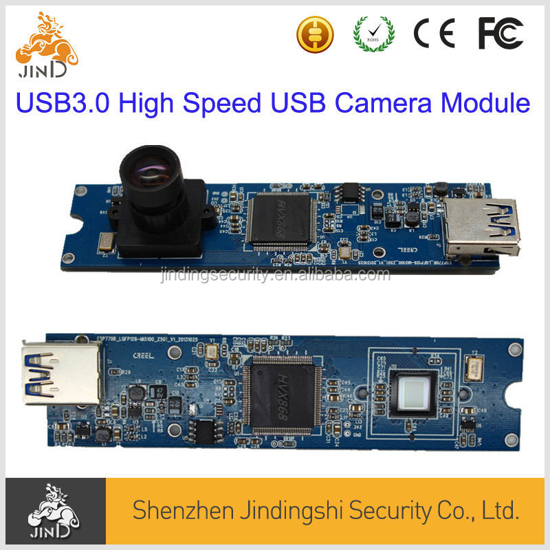 HD 5MP USB3.0 High Speed YUY camera module support linux WinXP SP1,Win2000 and free driver