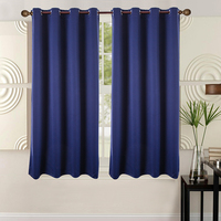 Solid color popular blackout one way vision curtains