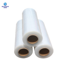 23mic clear lldpe wrap cast stretch film for luggage packing