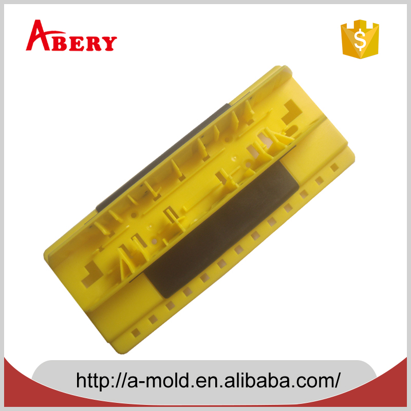 custom high quality Architecture plastic products(over-moulded part) ,plastic injection molding maker