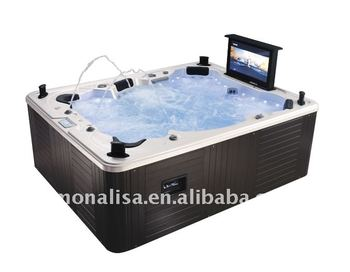 Hot Outdoor Spa Tub M 3342 With 32 Inch Tv Dvd Pop