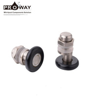 Shower Room Glass Door Fitting Accessories Rollers Wheels Pulley Frameless Shower Room Hardware