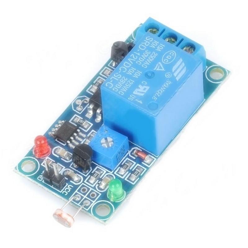 12v Light Sensor Relay,Ldr Relay Unit Board,Light Sensor Switch ...