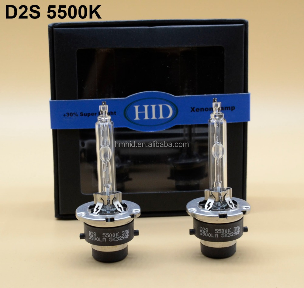 Hot sell +30% Super Bright Fast Start 12V 35W 3600Lm-4200LM HID Xenon D2S 5500K 6500K