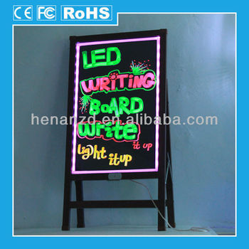 2014 New Style Waterproof Panel Led Writing Board For Sale;acrylic ...