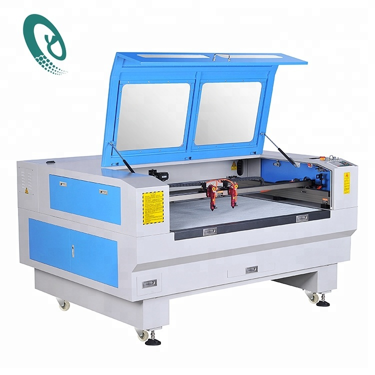 Hot sale 1300x900 cnc <strong>laser</strong> 1390 crown pu leather clothing fabric acrylic 150 watts <strong>laser</strong> cutting machine price