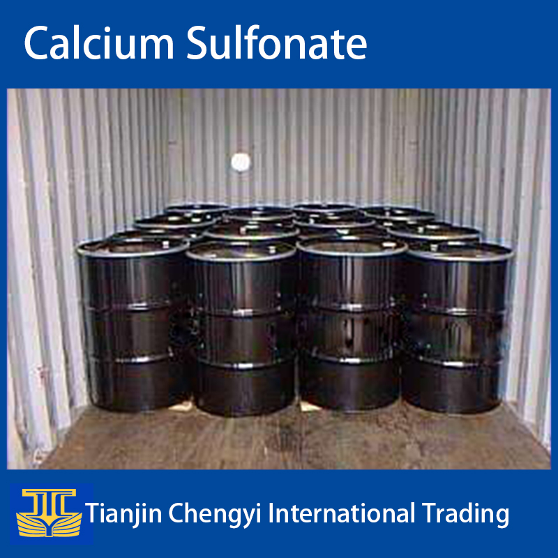 Synthetic calcium sulfonate