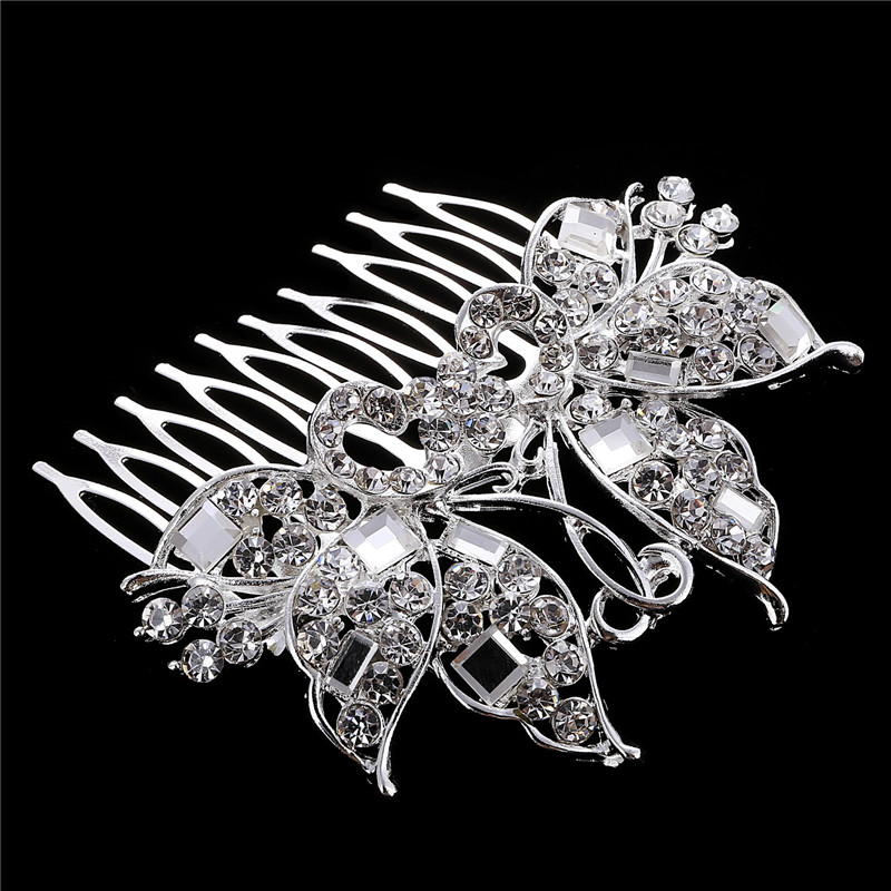 CZ Diamond Tiaras And <strong>Crowns</strong> Bridal Hair Ornaments For Weddings Crystals Hair Comb Accessories Jewelry for Women