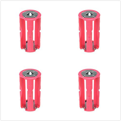 Parallel Cell Adapter Battery Holder DC 1.5V Case Box Convert 4 AAA to 1 C Size