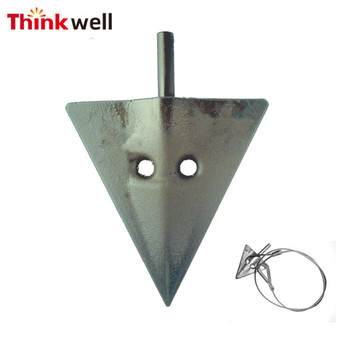 High Quality Galvanized Steel Fixing System Tree Guying Anchor Kit