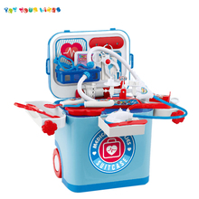 Kinder lernen pädagogisches <span class=keywords><strong>rolle</strong></span> spielen pretend arzt set medizinische kit tooy