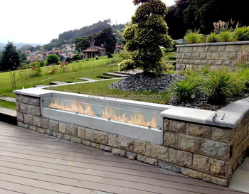 Inno Lving 62 Inch Fireplace Ethanol Box Outdoor Fire Pit View