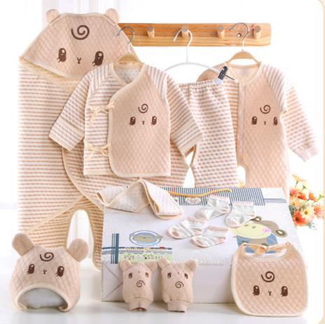 494164d38b8d 100% Organic Cotton Infants Baby Clothing Sets For Newborn Gift Box ...