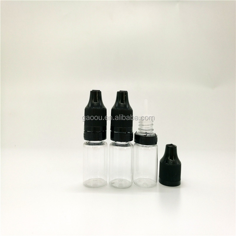 3ml 5ml 10ml 15ml 20ml 30ml 50ml 100ml 120ml 3ML Pet E -Liquid Plastic Dropper Bottle