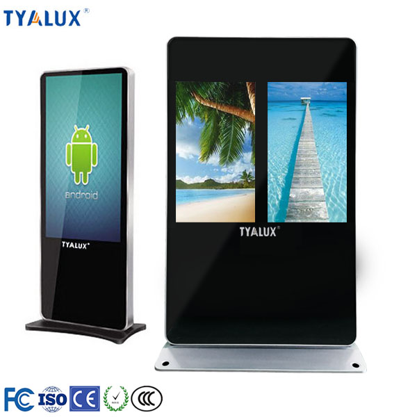 "43""/49""/55""/65"" advertising touch display cheap benefits of digital signage"