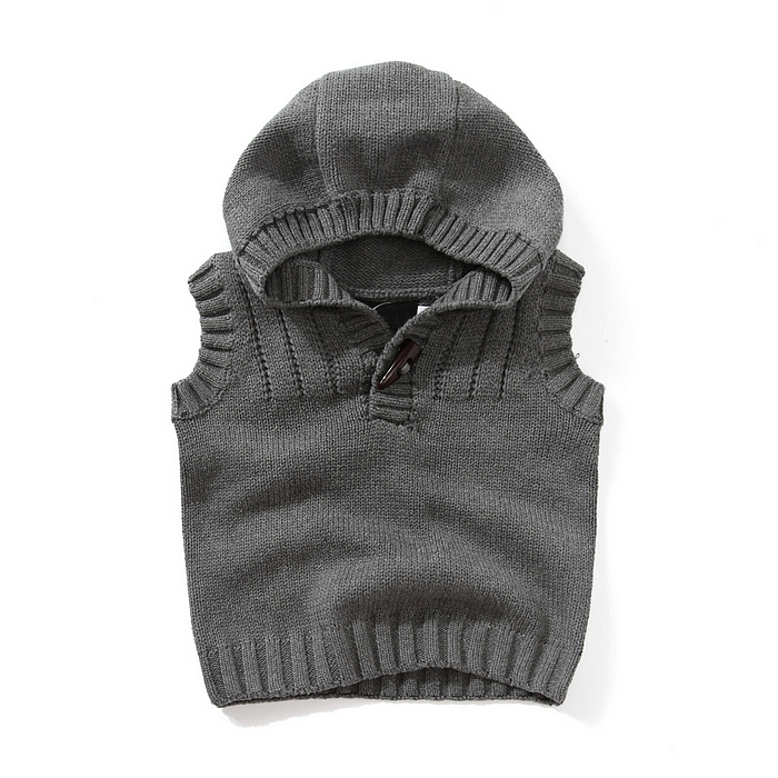 FORESTIME Toddler Kids Baby Girls Boys Knitting Cashmere Winter Warm Clothes Vest Blouse Thick Coat Outwear