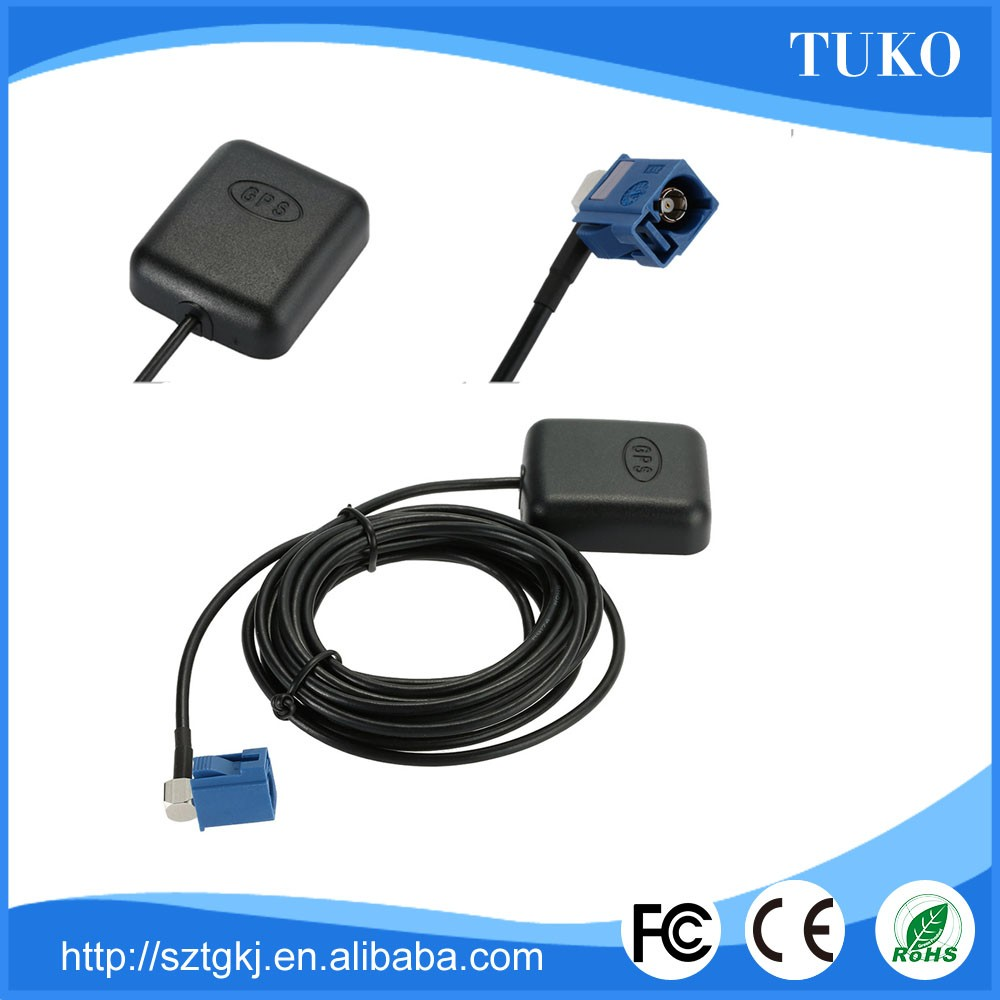 Magnetic Car Active Gps Antenna With R/a Fakra Connecter 3m/5m ...