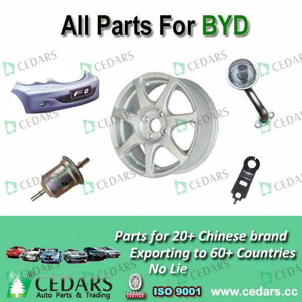 genuine spare for byd parts
