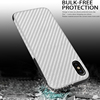 Shockproof Phone Case For iPhone 7 Plus 8 6s Plus 5 5s SE Case New Carbon Fiber Soft TPU mobile phone case