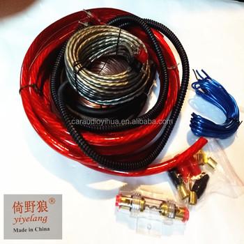 Car Audio Amplifier Installation 8ga Amp Wiring Kits Buy Lamp