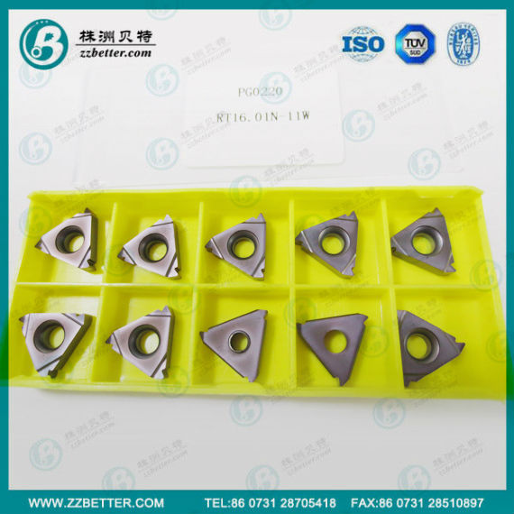 Cabide thread milling insert RT16.0W-11W for lathe machine