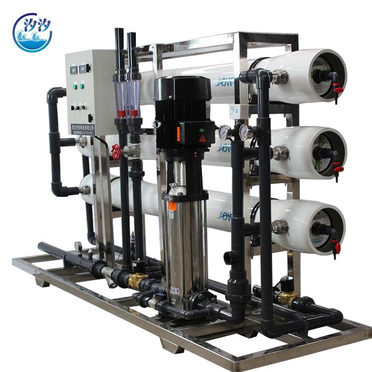 Chemistry factory double stage RO EDI system