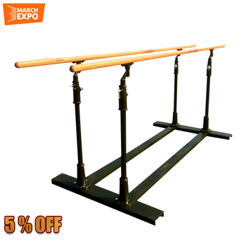 portable wooden home gym equipment cheap two horizontal