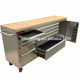 Professional metal heavy duty 10 drawers oem tool box roller cabinet with wheels