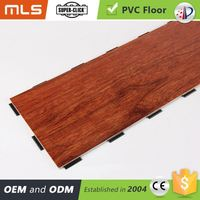 Factory Price Wood Like Click System Pvc Vinyl Floor Tile And Sheet Vinyl