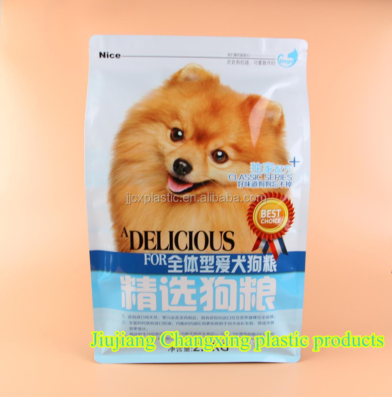 Green food packaging customization high-grade tea bag dog composite aluminum foil sack valve bag