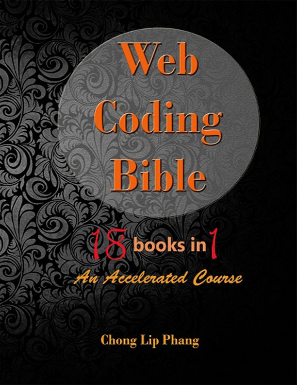Web Coding Bible (18 Books in 1)