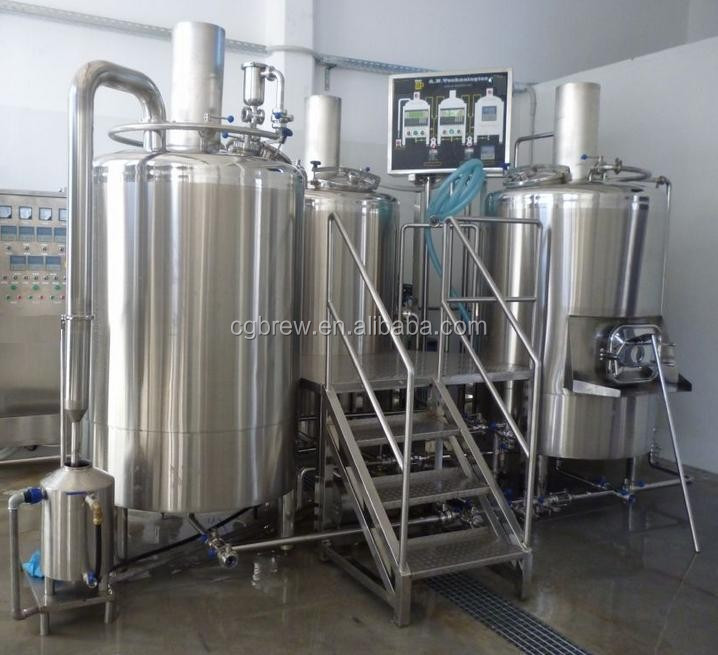 Commercial beer brewing equipment of 3HL for brewing IPA,ALE beer