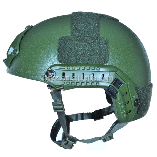 NIJ IIIA military helmet in different helmet molds and colors