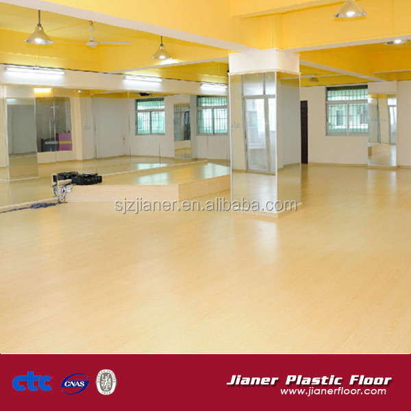 portable pvc sports floor used for dancing hall