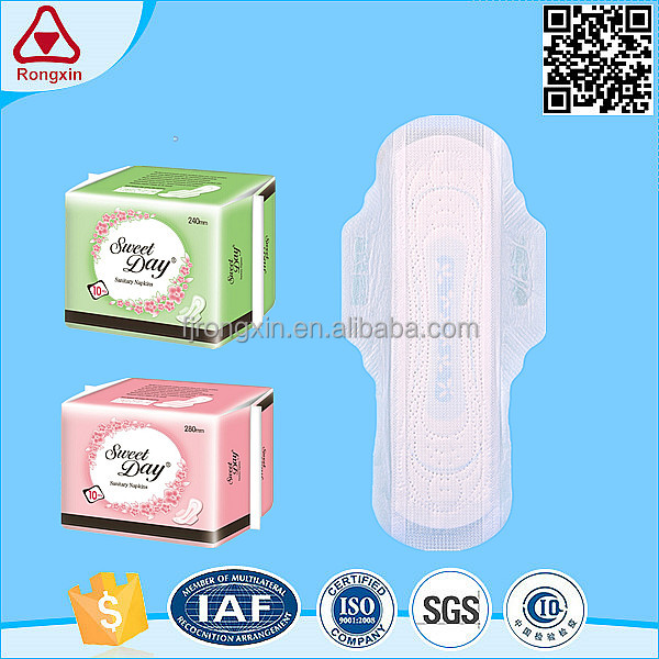 2017 latest lady care products women sanitary pad sanitary napkins china manfacturer