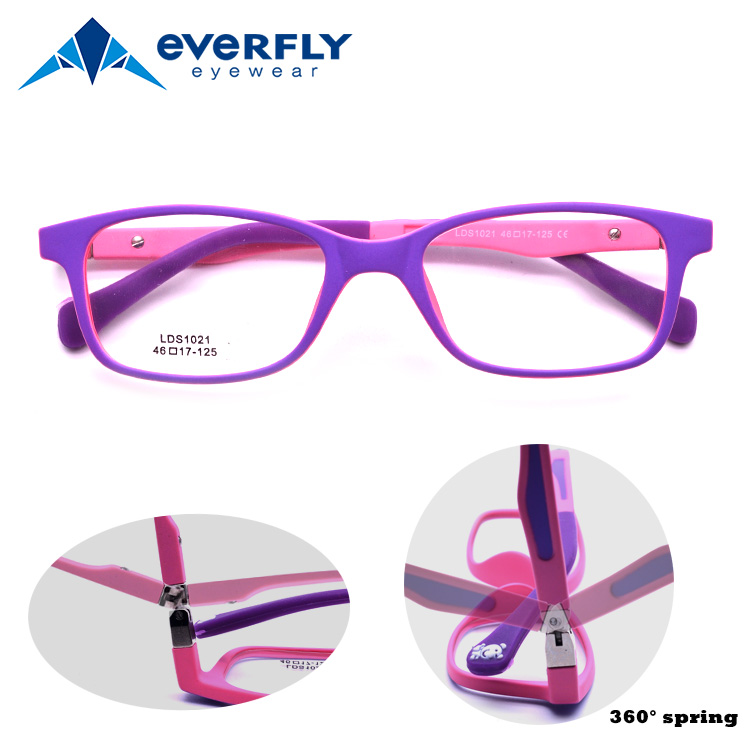 f09feaa6e4e95 2019 Hot Sale China Factory TR90 Children 360 Degree Hinge Kids Eyeglasses  Frames Optical Glasses Frames