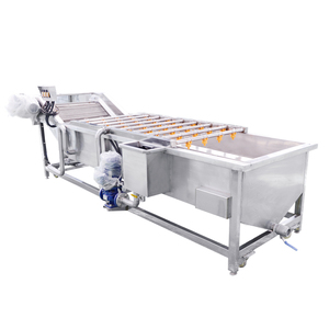 Commercial Date Dry Cleaning Machine Tomato Washing and Drying Machine
