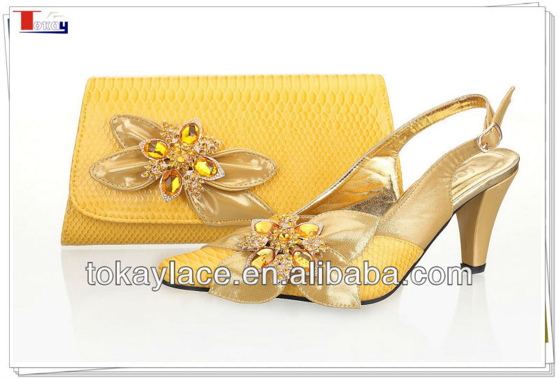 and design bag Italy shoe match to Yellow lady 0qvUtw0E