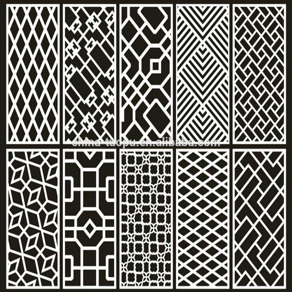 Dekorativer Aluminiumwohnraumteiler / Trennwand